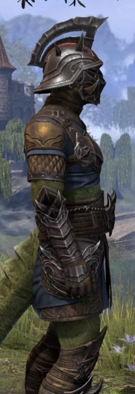 Deadlands Gladiator - Argonian Male Close Side
