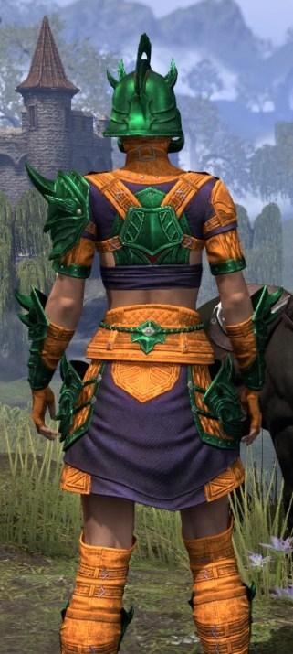 Deadlands Gladiator - Dyed Close Rear