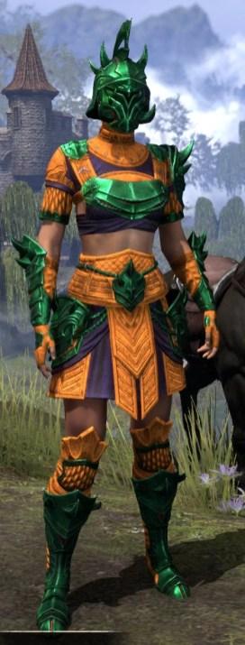 Deadlands Gladiator - Dyed Front
