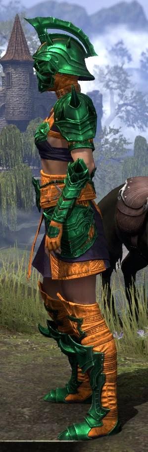Deadlands Gladiator - Dyed Side