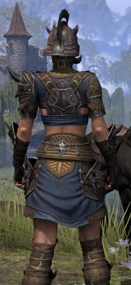 Deadlands Gladiator - Female Close Rear