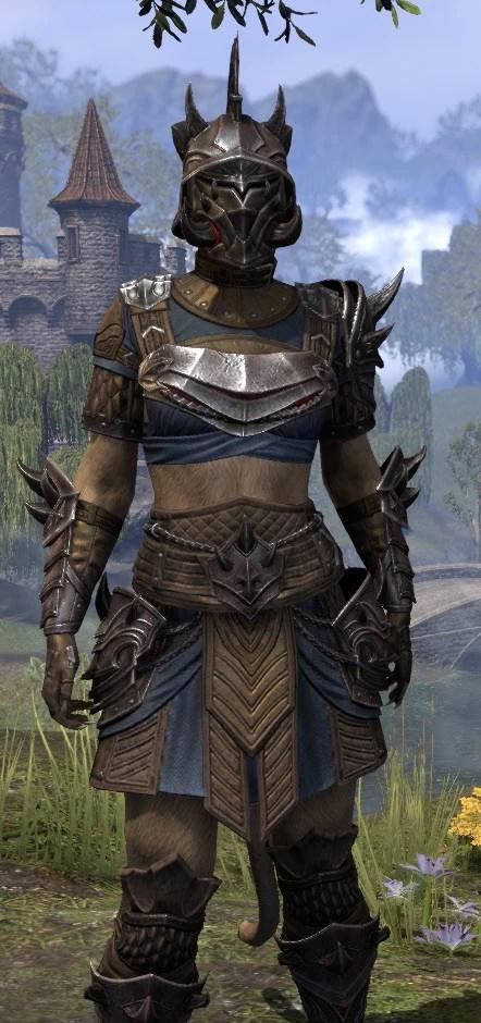 Deadlands Gladiator - Khajiit Female Close Front