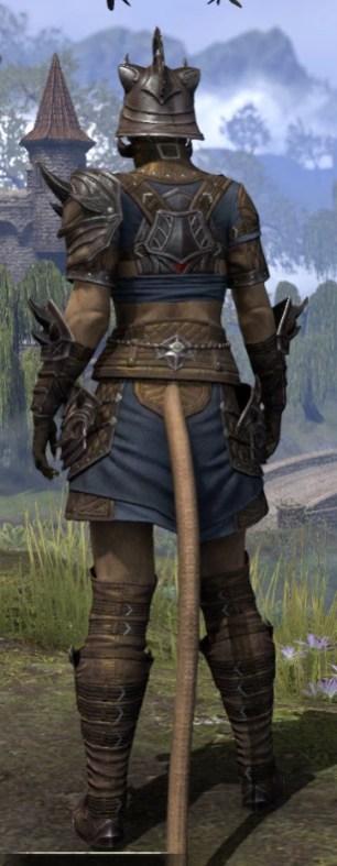 Deadlands Gladiator - Khajiit Female Rear