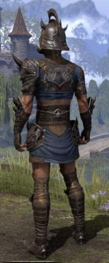 Deadlands Gladiator - Male Rear
