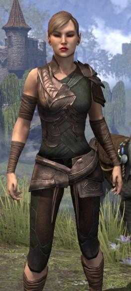 Eveli's Adventuring Leathers - Female Close Front