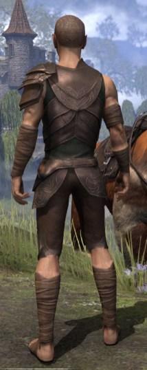 Eveli's Adventuring Leathers - Male Rear