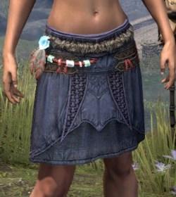 Harpooner's Wading Kilt - Female Front