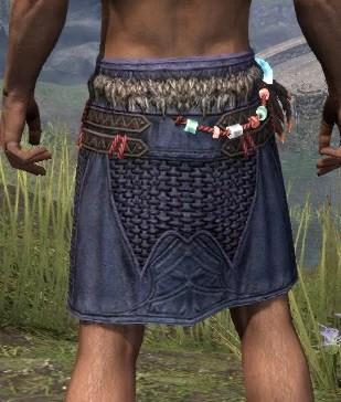 Harpooner's Wading Kilt - Male Rear