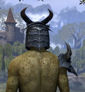 Immolator Charr - Argonian Male Rear