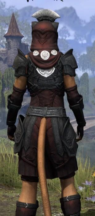 Ivory Brigade Light - Khajiit Female Shirt Close Rear