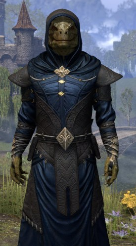 Nibenese Court Wizard - Argonian Male Close Front