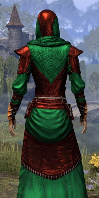 Nibenese Court Wizard - Dyed Close Rear