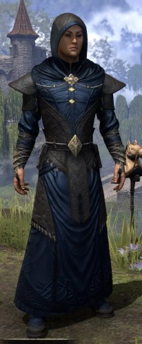 Nibenese Court Wizard - Male Front