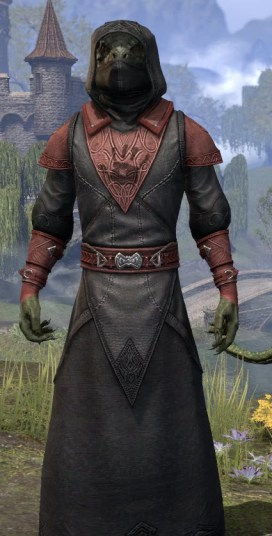 Night Mother's Evangelist - Argonian Male Close Front