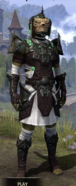 Sul-Xan Light - Argonian Male Shirt Front