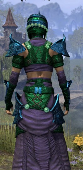 Sul-Xan Light - Dyed Robe Close Rear