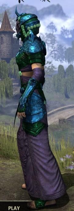 Sul-Xan Light - Dyed Robe Side