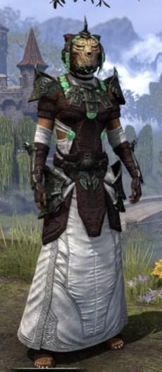 Sul-Xan Light - Khajiit Female Robe Front