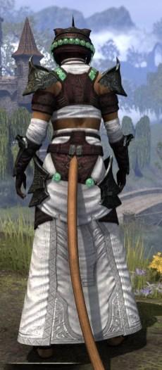 Sul-Xan Light - Khajiit Female Robe Rear