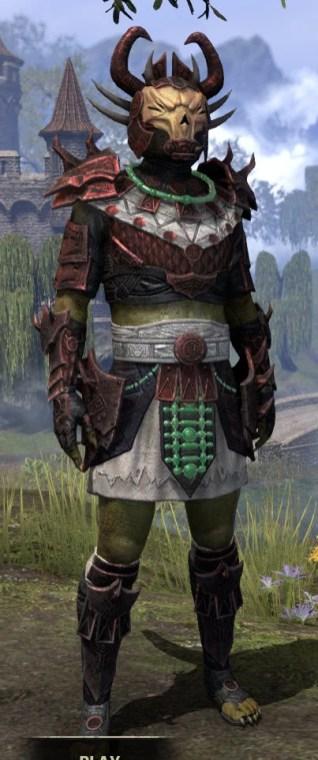 Sun-Xan Heavy - Argonian Male Front