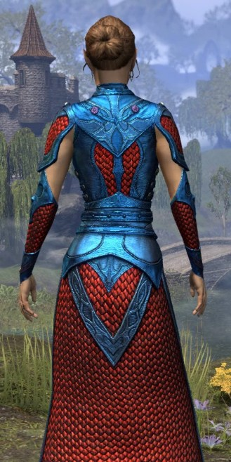 Thrafey Debutante Gown - Dyed Close Rear