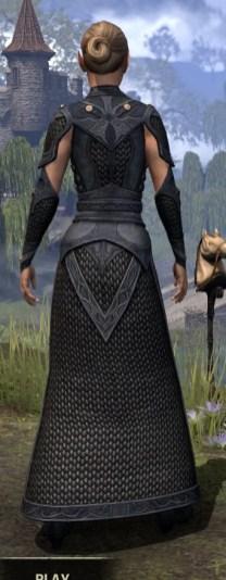 Thrafey Debutante Gown - Female Rear