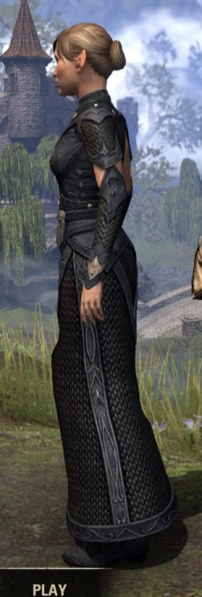 Thrafey Debutante Gown - Female Side