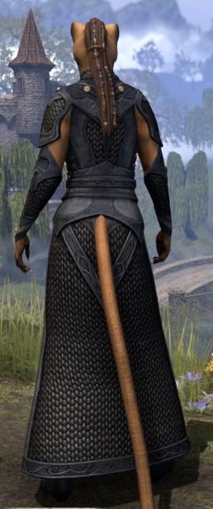 Thrafey Debutante Gown - Khajiit Female Rear