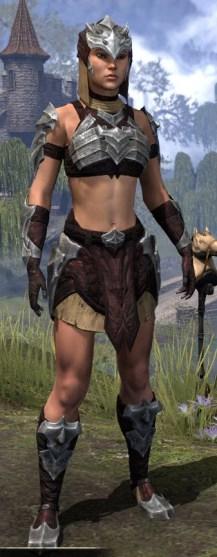 Waking Flame Ancestor Silk - Female Shirt Front