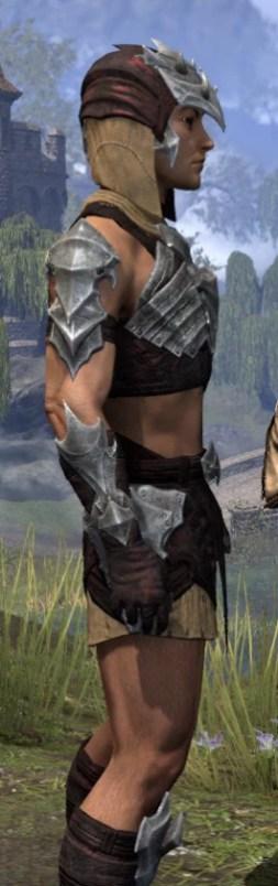 Waking Flame Ancestor Silk - Male Shirt Close Side