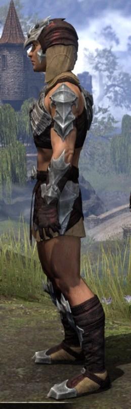 Waking Flame Ancestor Silk - Male Shirt Side