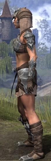 Waking Flame Homespun - Female Shirt Side