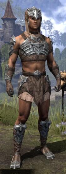 Waking Flame Homespun - Male Shirt Front