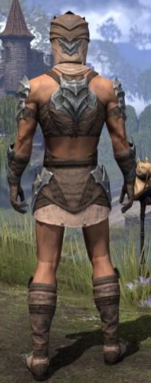 Waking Flame Homespun - Male Shirt Rear
