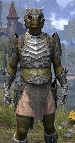 Waking Flame Iron - Argonian Male Close Front
