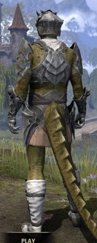 Waking Flame Iron - Argonian Male Rear