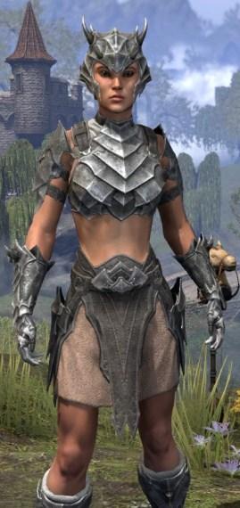 Waking Flame Iron - Female Close Front