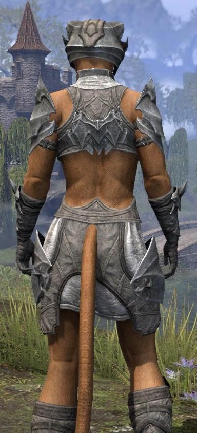Waking Flame Rawhide - Khajiit Female Close Rear