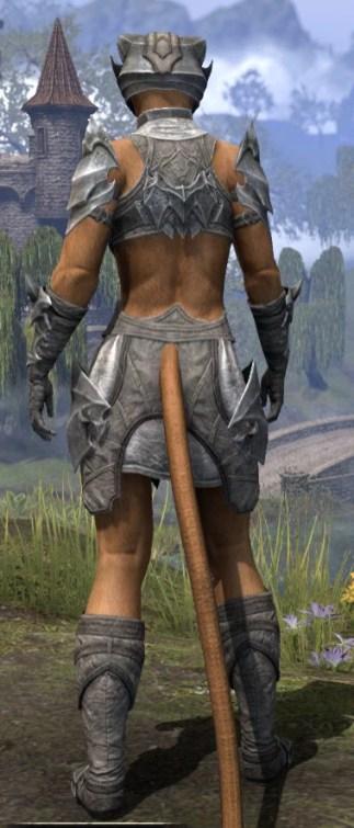 Waking Flame Rawhide - Khajiit Female Rear