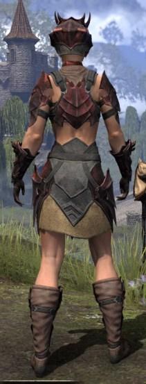Waking Flame Rubedite - Female Rear