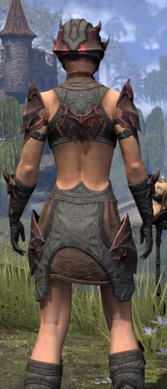 Waking Flame Rubedo Leather - Female Close Rear