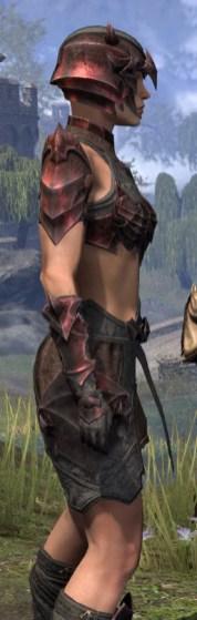 Waking Flame Rubedo Leather - Female Close Side