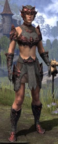 Waking Flame Rubedo Leather - Female Front