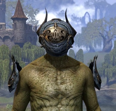 Zoal the Ever-Wakeful - Argonian Male Front