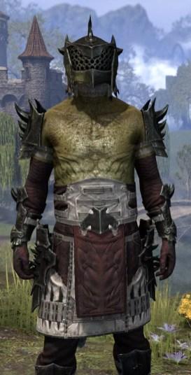 Crimson Oath Heavy - Argonian Male Close Front