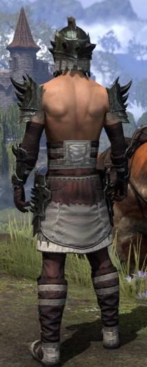 Crimson Oath Heavy - Male Rear