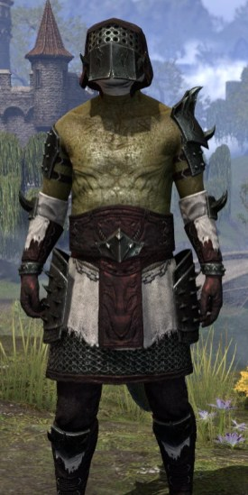 Crimson Oath Medium - Argonian Male Close Front