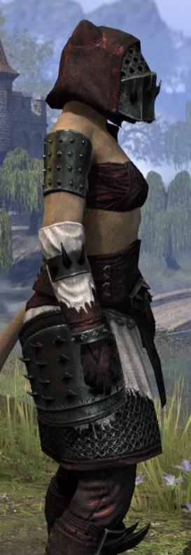 Crimson Oath Medium - Khajiit Female Close Side