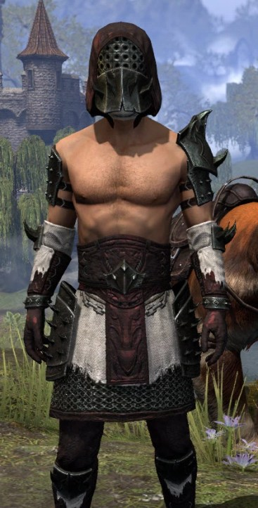 Crimson Oath Medium - Male Close Front