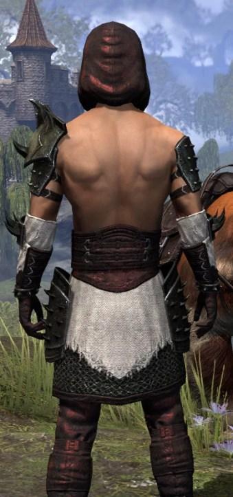 Crimson Oath Medium - Male Close Rear
